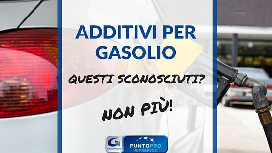 additivi per gasolio